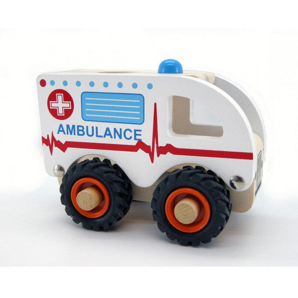 Wooden Ambulance - Earth Toys