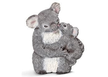 Schleich - Koala Bear with Cub - Earth Toys