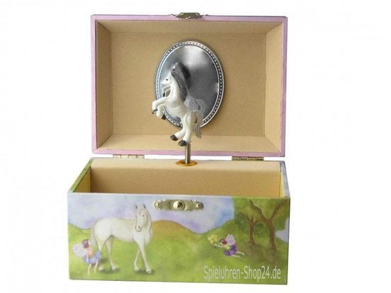 Enchantmints Horse Fairy Music Box - small - Earth Toys - 1