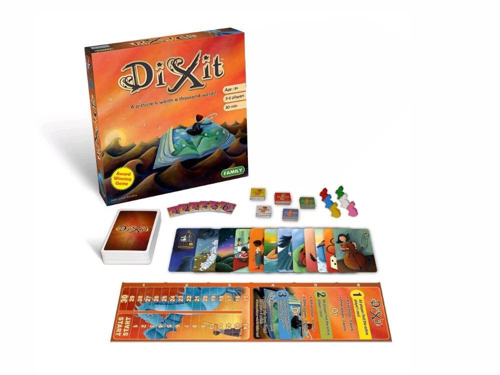 Dixit Board Game - Earth Toys