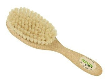 Children's Hair Brush Natural Bristle Pig Hair 18cm