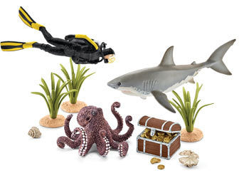 Schleich – Treasure Hunt Diver - Earth Toys