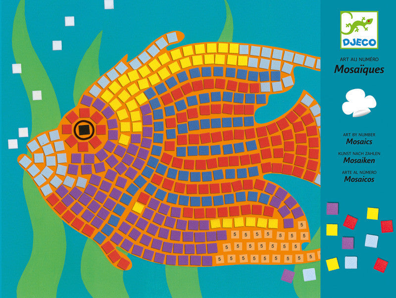 Fish Mosaics - Earth Toys - 1