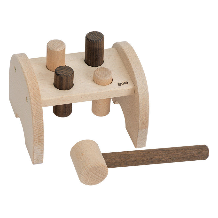 Nature Hammer Bench - Earth Toys