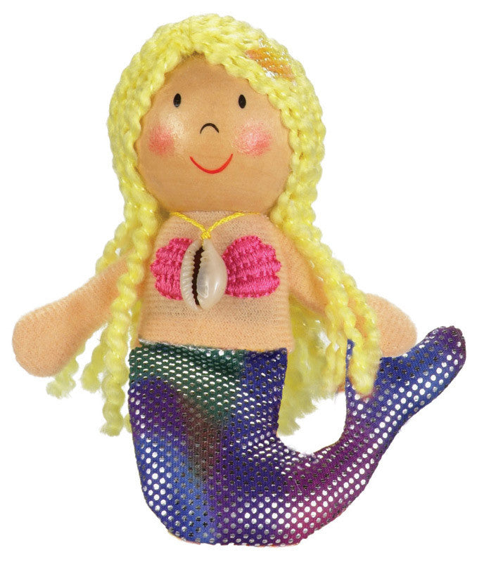 Fiesta Crafts - Mermaid Finger Puppet - Earth Toys