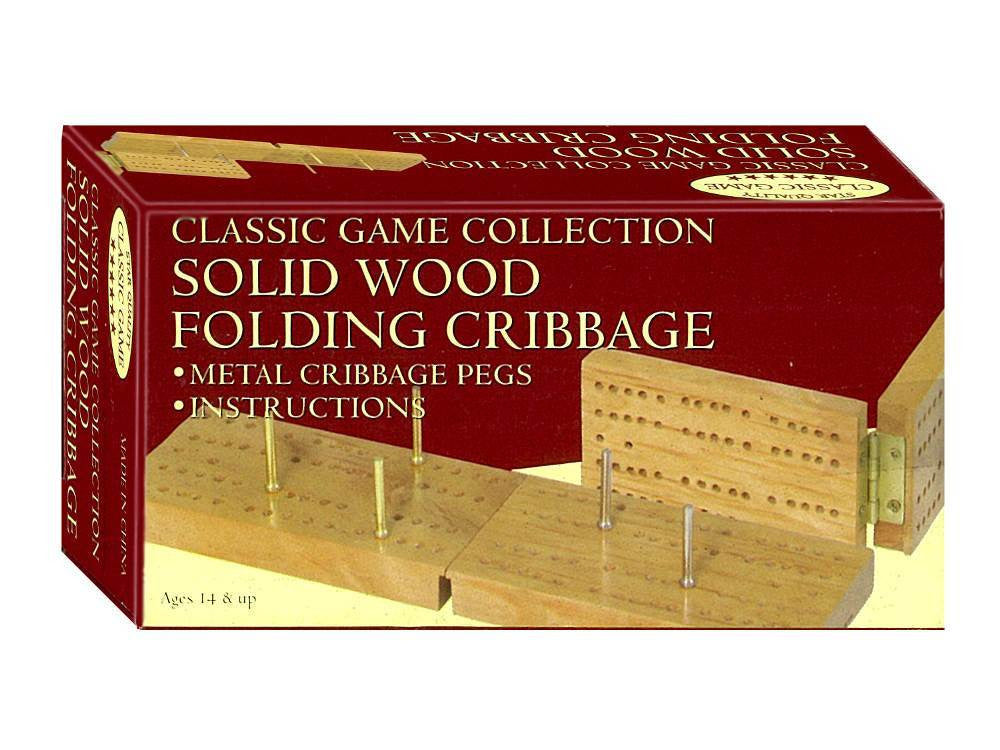 Cribbage mini folding board - Earth Toys