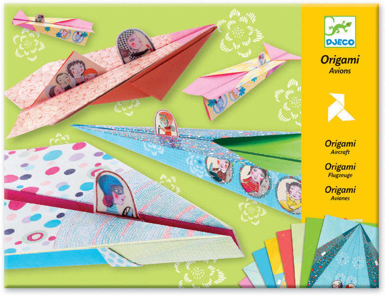 Pretty Paper Planes Origami - Earth Toys - 1