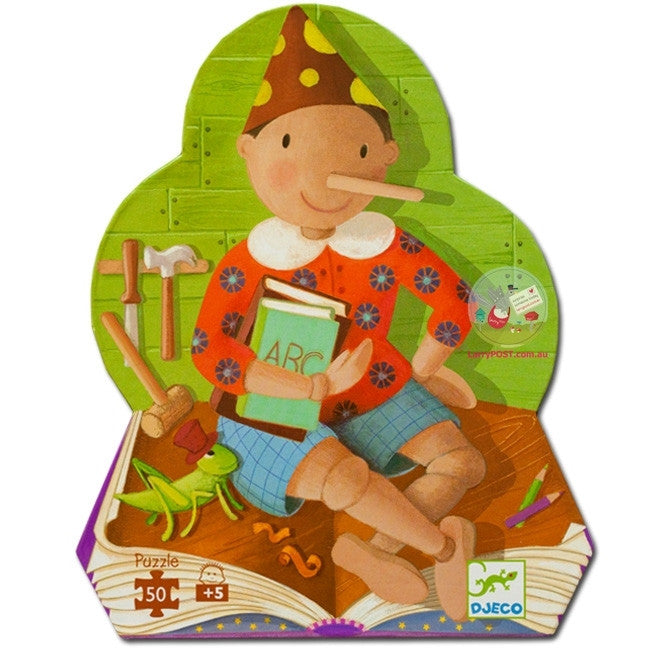 Pinocchio 36pc Puzzle - Earth Toys - 1