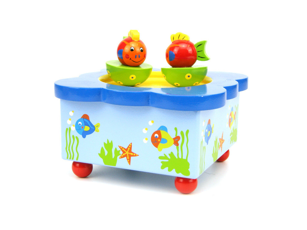 Fish Magnetic Music Box - Earth Toys