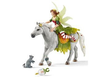 Schleich - Marween in Festive Dress Riding - Earth Toys