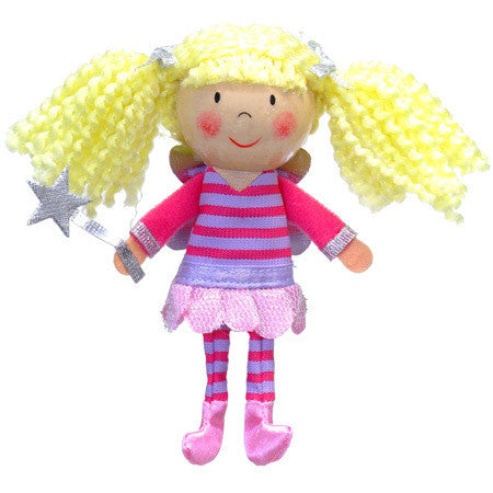 Fiesta Crafts - Fairy Finger Puppet - Earth Toys