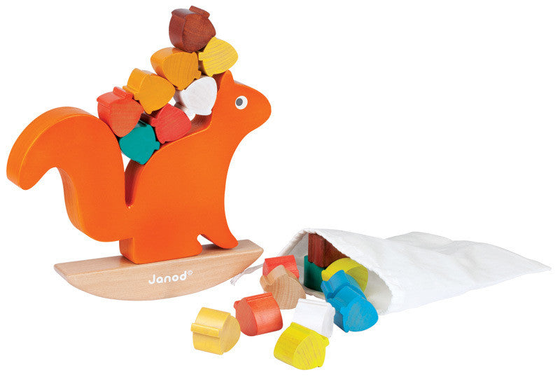 Janod - Nutty Balance Game - Earth Toys