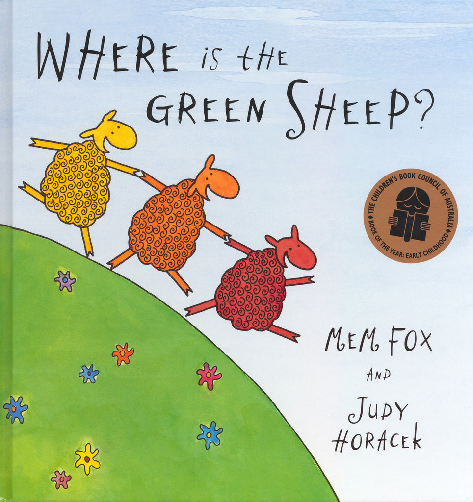 Where is the Green Sheep - Board Book - Earth Toys - 1