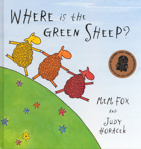 Where is the Green Sheep - Board Book