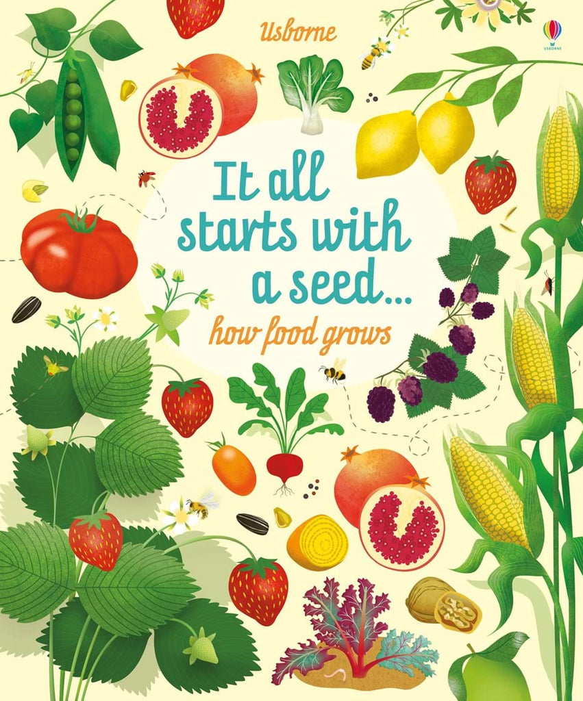 Usborne - It all starts with a seed… how food grows