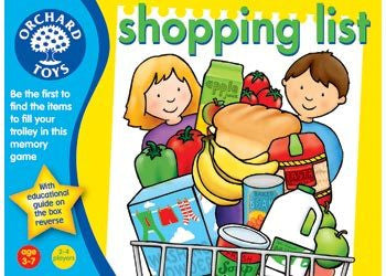 Orchard Toys - Shopping List - Earth Toys