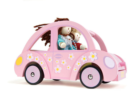 Sophies Wooden Doll Car