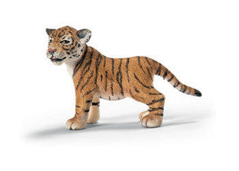 Schleich - Tiger Cub Standing - Earth Toys