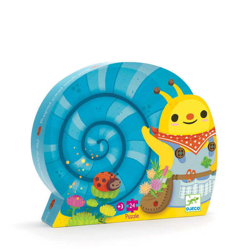 Snail Silhouette 24 pce by Djeco - Earth Toys - 1