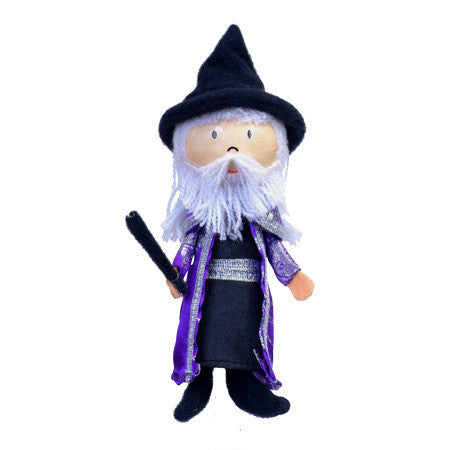 Fiesta Crafts - Wizard Finger Puppet - Earth Toys