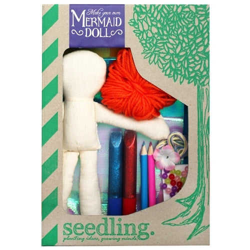 Make your own Mermaid Doll Kit - Earth Toys - 1