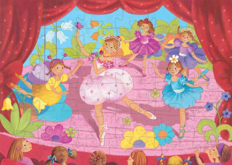 The Ballerina with the Flower 36pc Puzzle - Earth Toys - 2