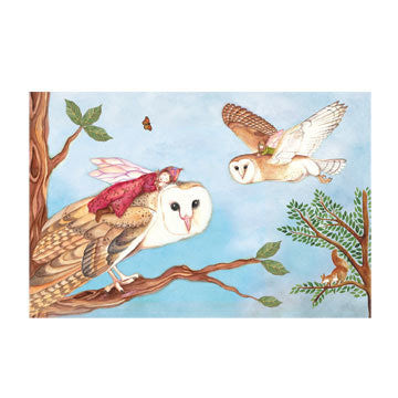 Birds Owl Travellers Music Box - Earth Toys - 4