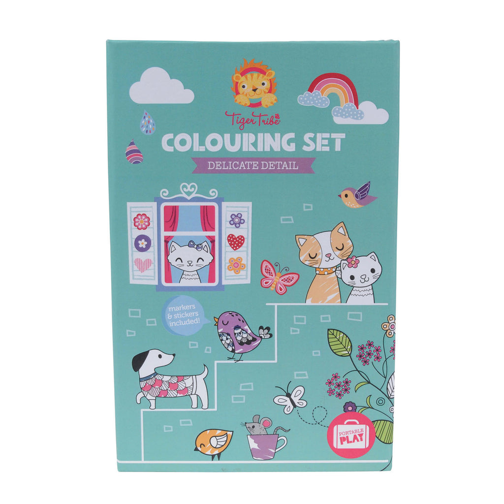 Colouring Set - Delicate Detail - Earth Toys - 1
