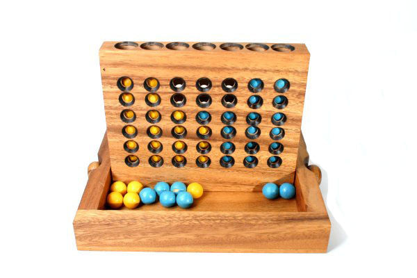 Wooden Connect 4 - Earth Toys