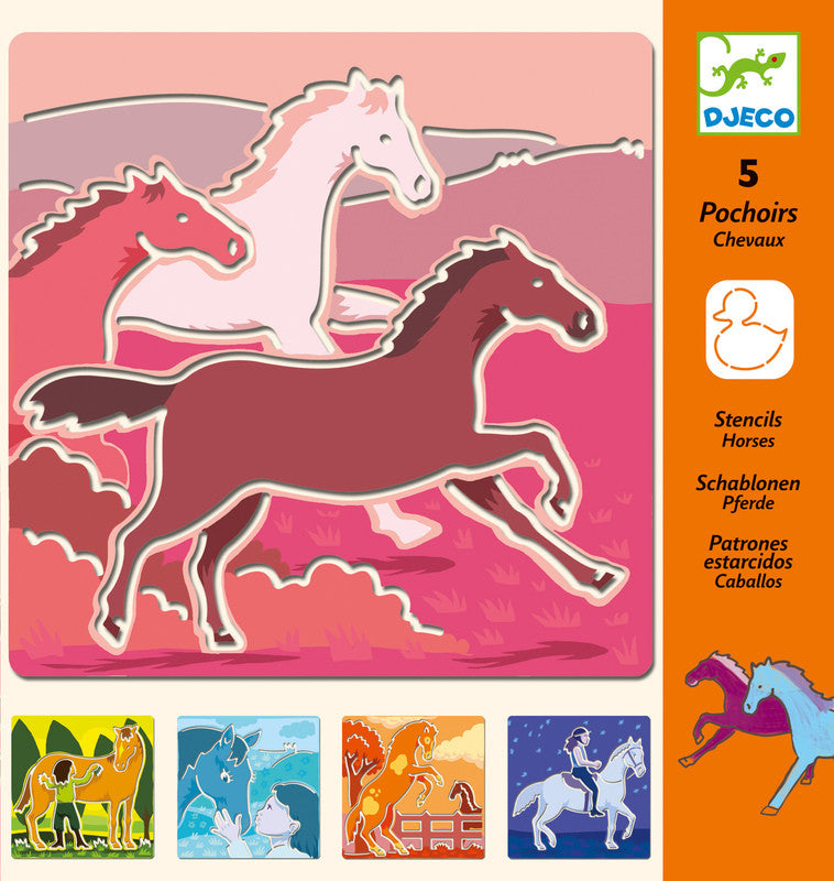 Djeco Stencil Packs - Earth Toys - 2