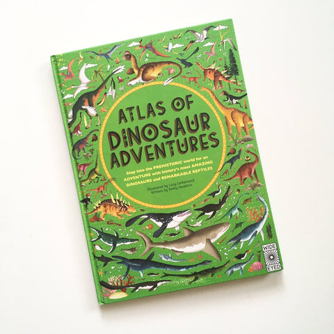 Atlas of Dinosaur Adventures: Step into Prehistoric World