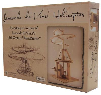 Da Vinci Helicopter Wooden Kit - Earth Toys - 3