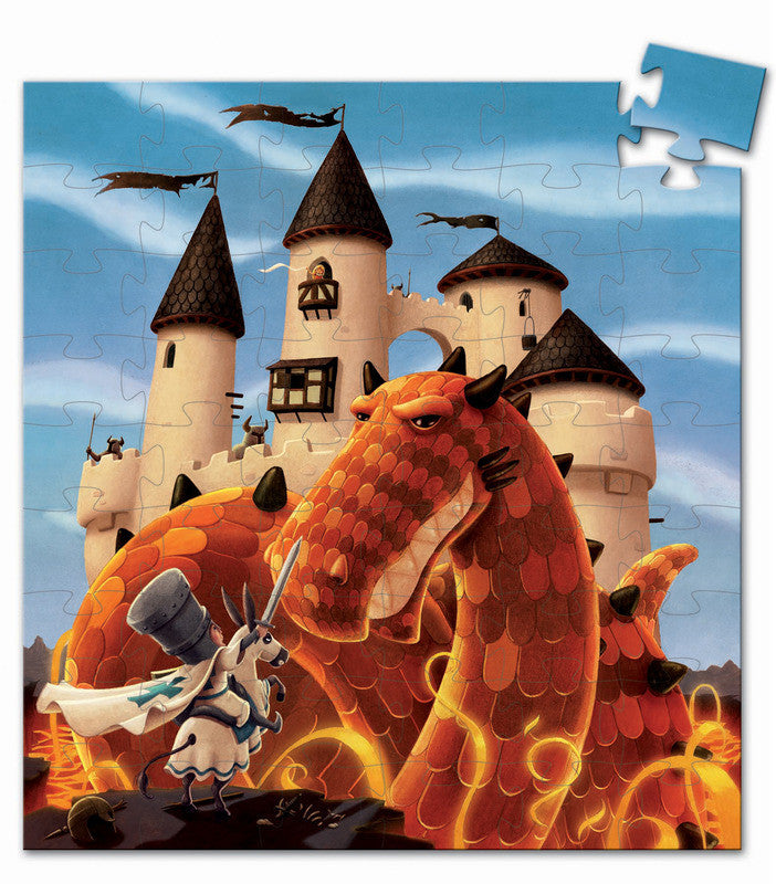 Dragons Castle 54 pc Puzzle - Earth Toys - 2