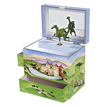 Dragons Castle Music Box - Earth Toys - 1