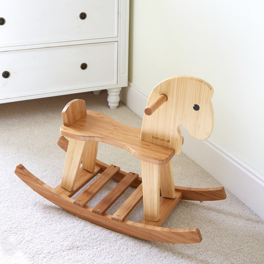 Wooden Rocking Horse - Earth Toys - 2