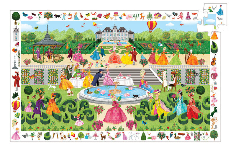 Puzzle Observation - Garden Party 100pc Puzzle - Earth Toys