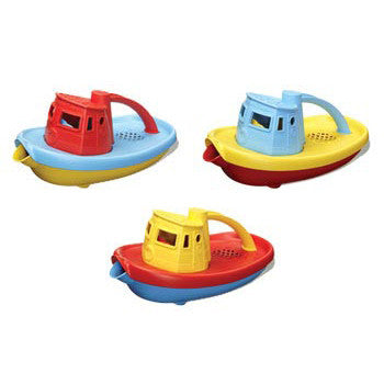 Green Toys 100% Recycled plastic - Tug Boat - Large