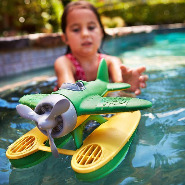 Green Toys Seaplane - Earth Toys - 3