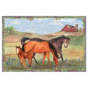 Horse Ranch Music Box - Earth Toys - 3
