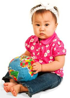 Hugg A Planet Rattle - Earth Toys - 1