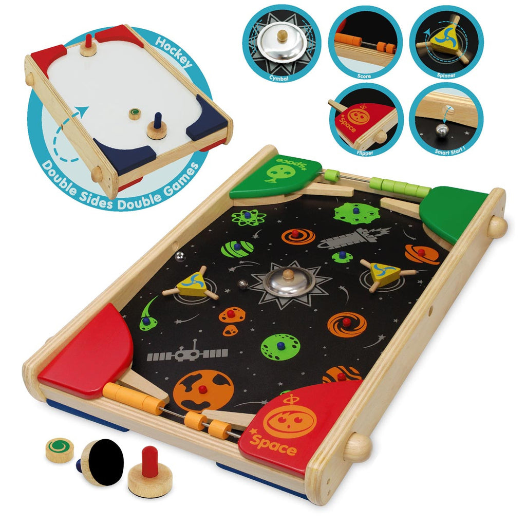 The 2 in 1 Two Player Super Shooter - Earth Toys