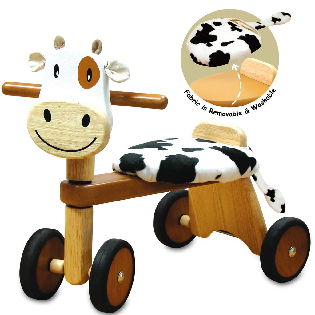 Cow Padding Rider. - Earth Toys