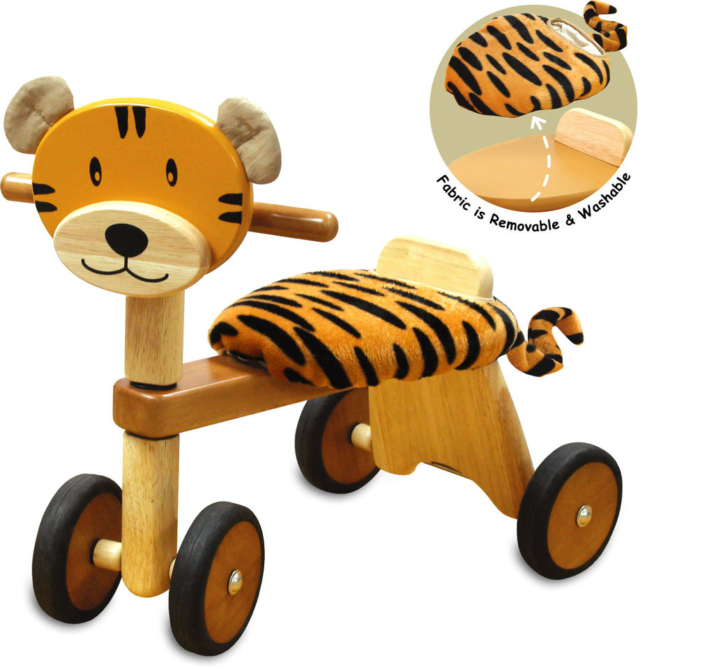 Tiger Ride On - Earth Toys - 1