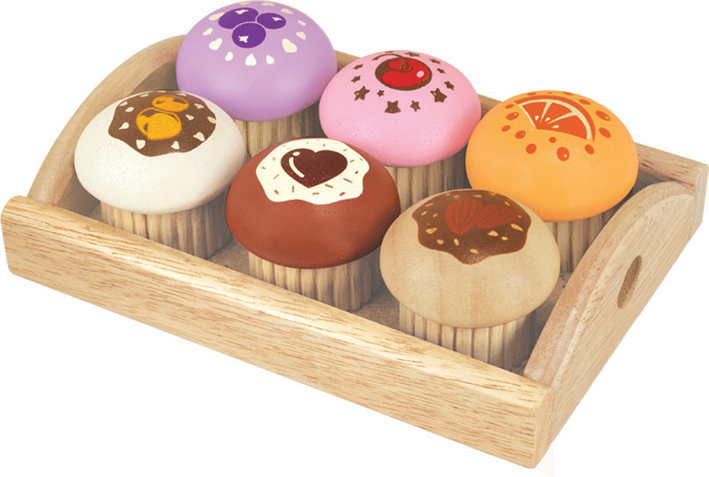 Wooden Muffin Set - Earth Toys
