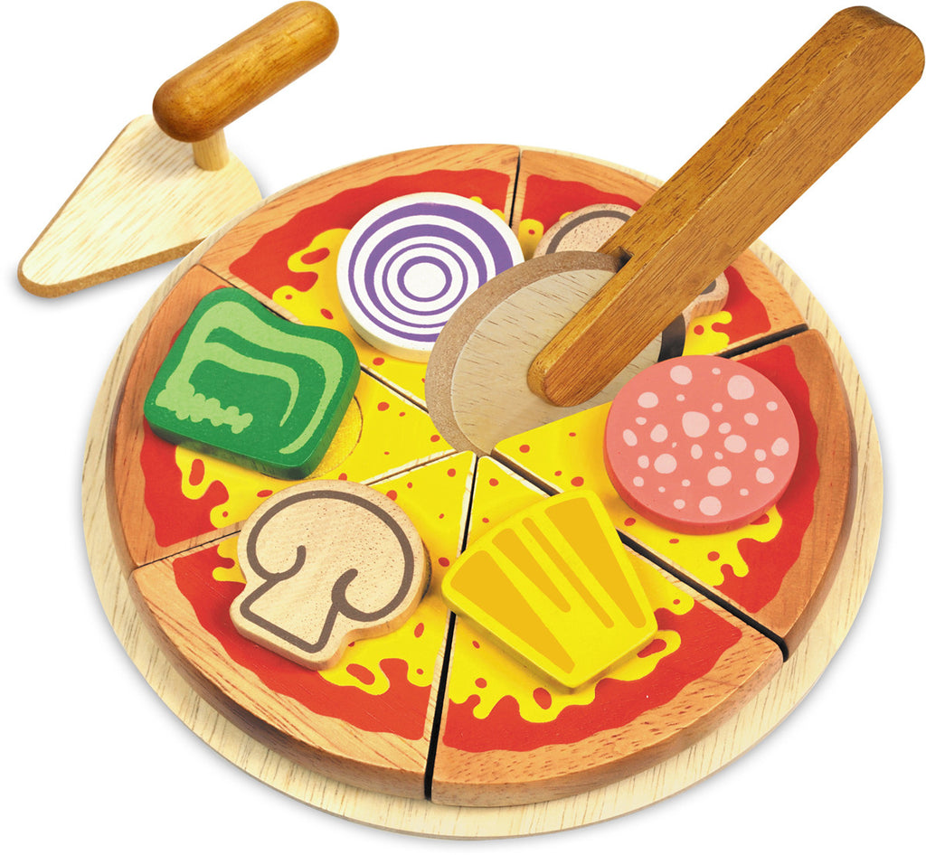 Homemade Wooden Pizza - Earth Toys