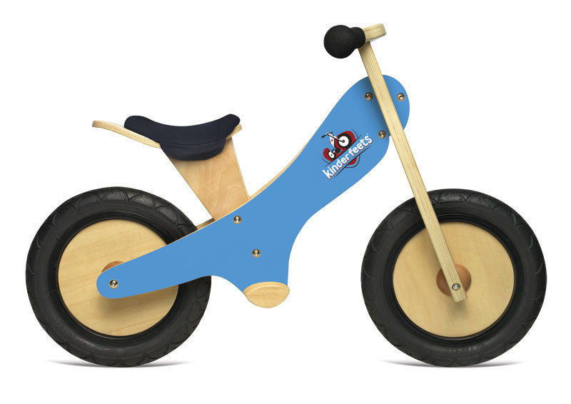 Kinderfeet Wooden Balance Bike - Earth Toys - 2