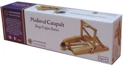 Medieval Catapult Wooden Kit - Earth Toys - 2