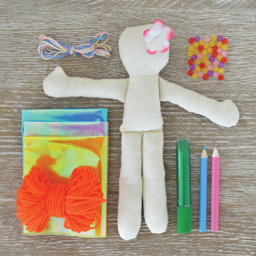 Make your own Mermaid Doll Kit - Earth Toys - 3