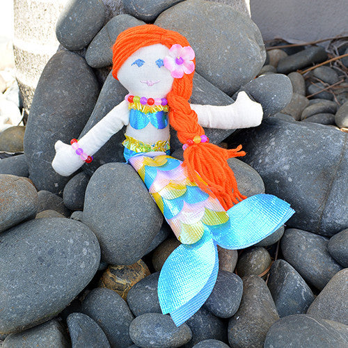 Make your own Mermaid Doll Kit - Earth Toys - 2