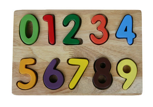 Quins Number Puzzle - Earth Toys